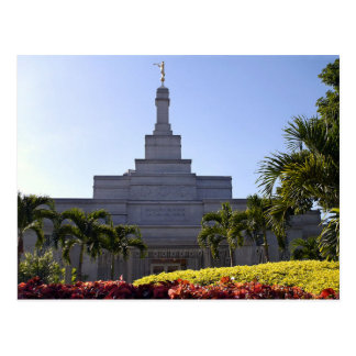 The Caracas Venezuela LDS Temple Postcard