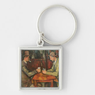 The Card Players, 1893-96 Keychain