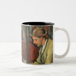 The Card Players, 1893-96 Two-Tone Mug