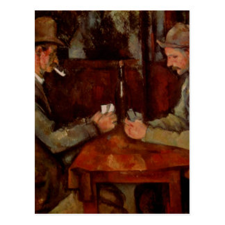 The Card Players, Claude Cezanne