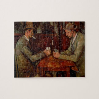 The Card Players, Claude Cezanne Jigsaw Puzzle