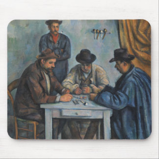 The Card Players Mouse Pad