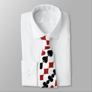 The Card Suits Neck Tie