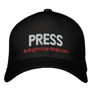 The Cardinal PRESS Hat Embroidered Baseball Caps