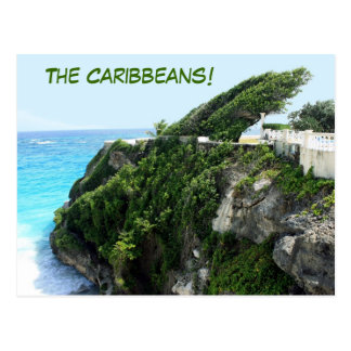 The Caribbeans postcard