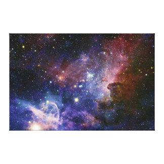 The Carina Nebula Eta Carina Nebula NGC 3372 Canvas Print