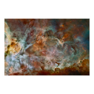 The Carina Nebula Print