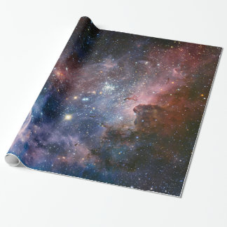 The Carina Nebula's hidden secrets Wrapping Paper