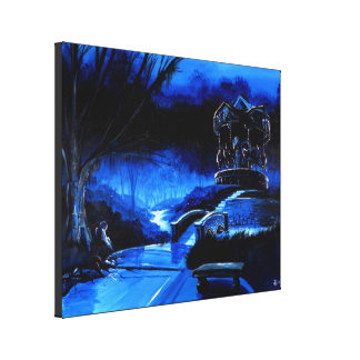 The Carousel of Solace Park Canvas Prints