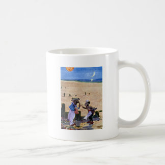 The Carpenter and the Walrus Consider Oysters Coffee Mug