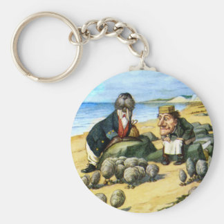The Carpenter and the Walrus Consider Oysters Keychain