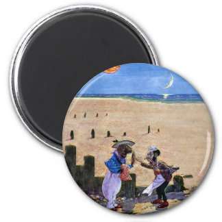 The Carpenter and the Walrus Consider the Oysters 2 Inch Round Magnet