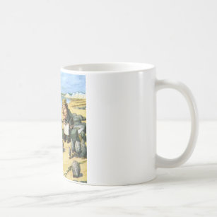 The Carpenter and Walrus Consider Oysters Coffee Mug