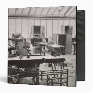 The Carpenter's Workshop, from the Workshops of th Binders