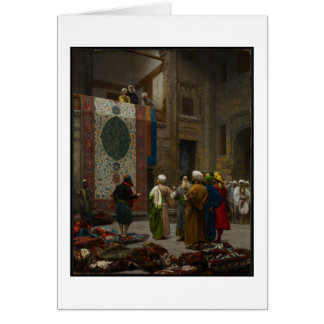 The Carpet Merchant, c.1887 (oil on canvas) Card