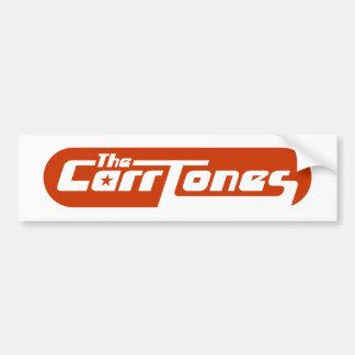 The CarrTones Bumper Sticker