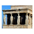 The Caryatid Porch of the Erechtheion in Athens Postcard