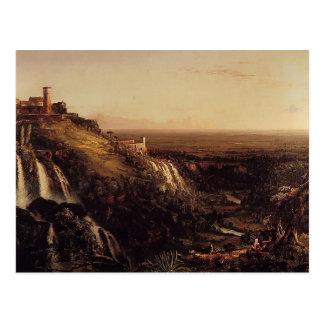 The Cascatelli, Tivoli by Thomas Cole Postcard
