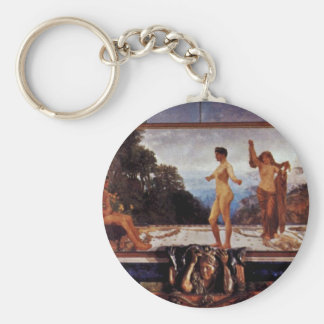 The Case Of Paris,  By Klinger, Max (Best Quality) Basic Round Button Keychain