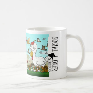 The Cast of Characters Classic White Coffee Mug
