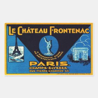 The Castle Frontenac (Paris - France) Sticker