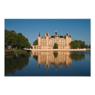 The castle in Schwerin Photo Print