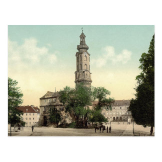 The castle, Weimar, Thuringia, Germany Postcard