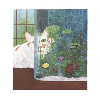 The Cat Aquatic Notepad