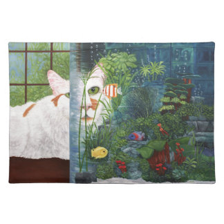 The Cat Aquatic Placemat