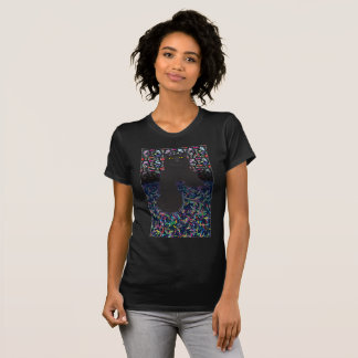 The cat catches the leaves T-Shirt