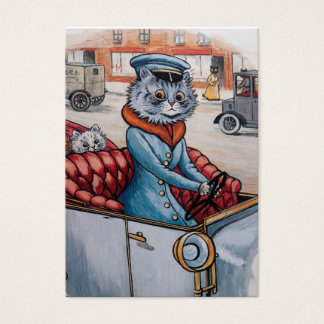 The Cat Chauffeur - Two Sided Business Card