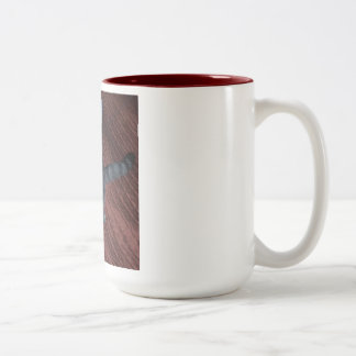 The Cat Dancer Two-Tone Coffee Mug