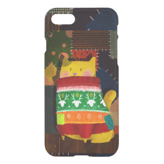 The Cat in the Ugly Sweater iPhone 8/7 Case
