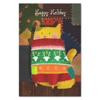 The Cat in the Ugly Sweater Tissue Paper