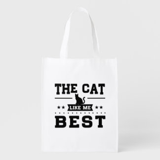 The Cat Like Me Best Reusable Grocery Bag