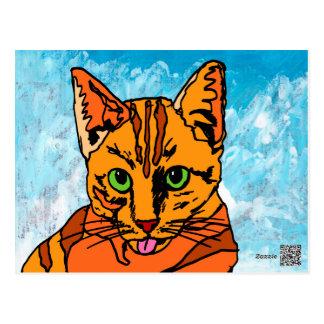 The Cat Postcard
