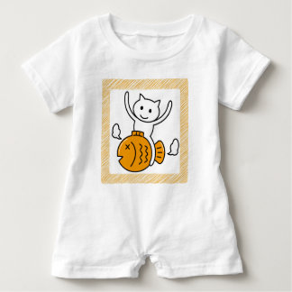 The cat which wants baby romper