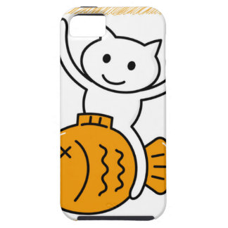 The cat which wants iPhone 5 cover