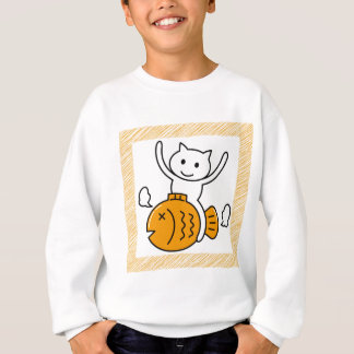 The cat which wants sweatshirt