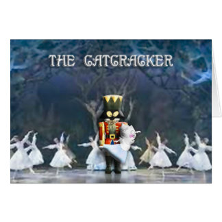 The Catcracker II (Blank on the Inside) Greeting Card