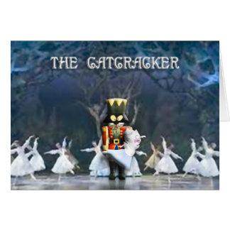 The Catcracker II (Blank on the Inside) Greeting Card