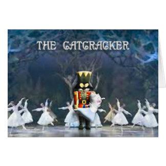The Catcracker II Greeting Card