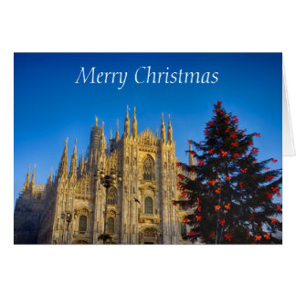 The Cathedral at Christmas Card