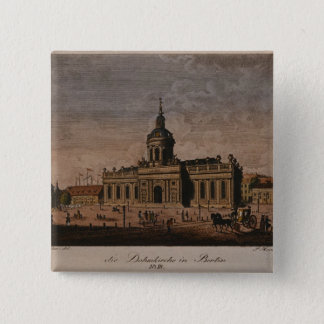 The Cathedral, Berlin 2 Inch Square Button