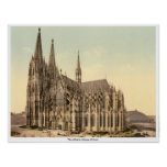 The cathedral, Cologne, Germany Print