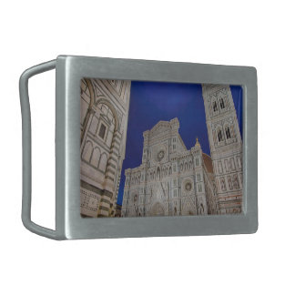 The Cathedral of Santa Maria del Fiore Belt Buckle