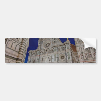 The Cathedral of Santa Maria del Fiore Bumper Sticker