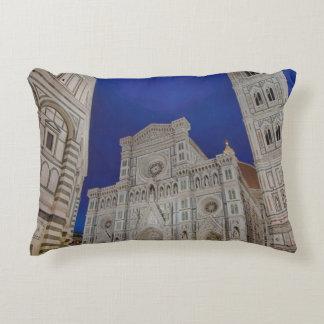 The Cathedral of Santa Maria del Fiore Decorative Pillow