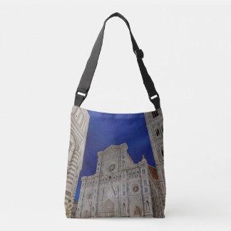 The Cathedral of Santa Maria del Fiore in italy Crossbody Bag