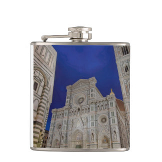 The Cathedral of Santa Maria del Fiore in italy Hip Flask